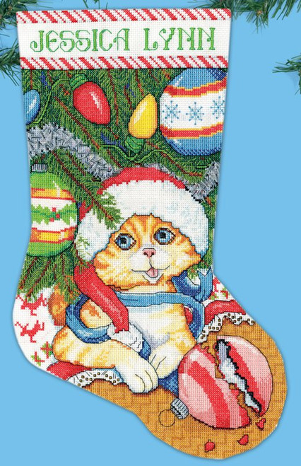 Design Works - Kitten Stocking
