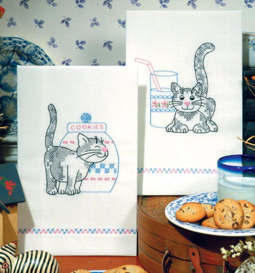Design Works - Kittens Towels (2)