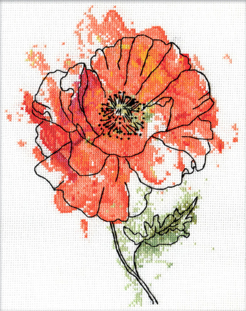 Design Works - Peach Floral