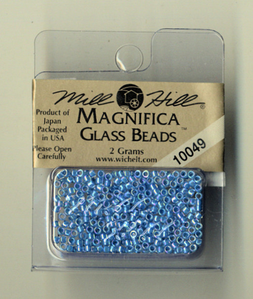 Mill Hill Magnifica Glass Beads 2g - Sky Blue #10049