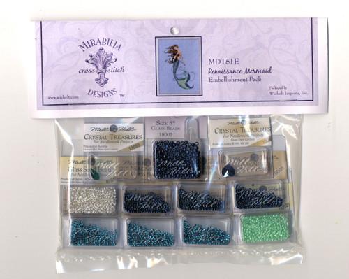 Mirabilia Embellishment Pack - Renaissance Mermaid