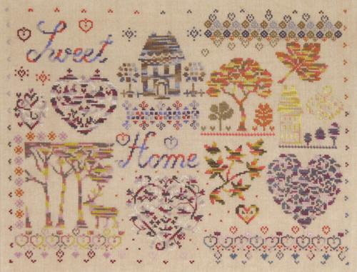 Oriental Lady 9~counted cross stitch pattern #1527~Asian People Graph Chart