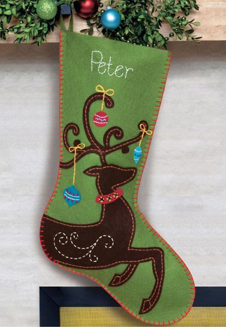 Dimensions - Ornate Deer Stocking