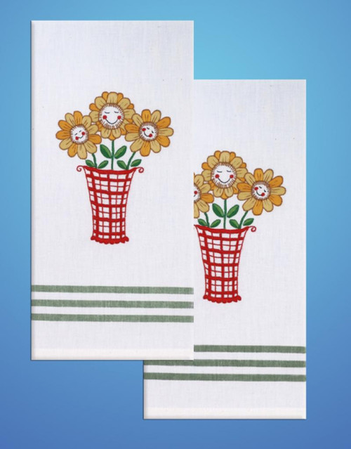 Design Works - Daisy Towels (2)
