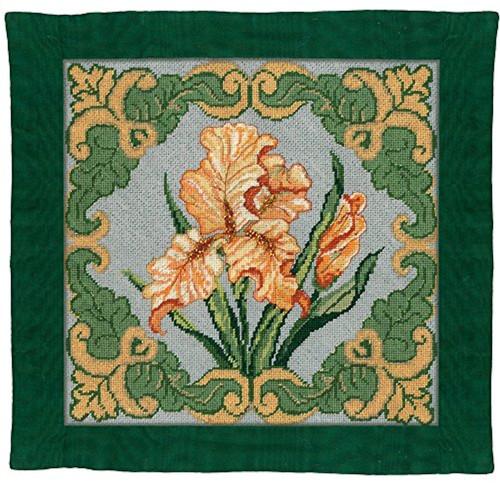 Candamar - Golden Iris Pillow / Picture