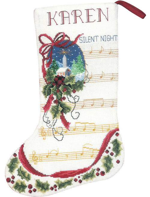Janlynn - Silent Night Stocking
