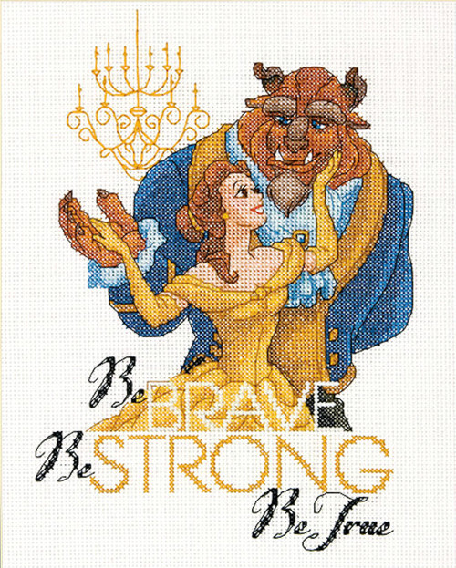 Dimensions - Disney Princess Belle Be Brave