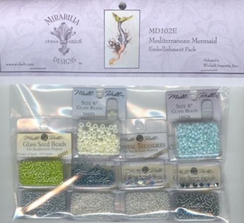 Mirabilia Embellishment Pack  - Mediterranean Mermaid