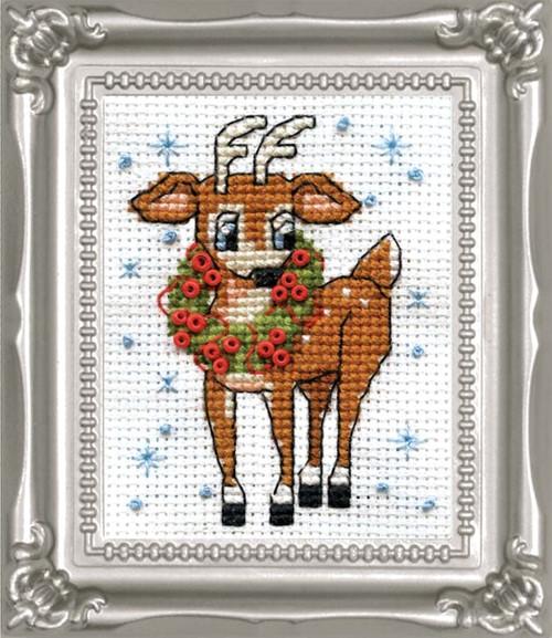 Design Works -  Reindeer Picture Kit w/Frame