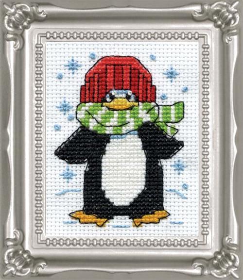 Design Works -  Penguin Picture Kit w/Frame