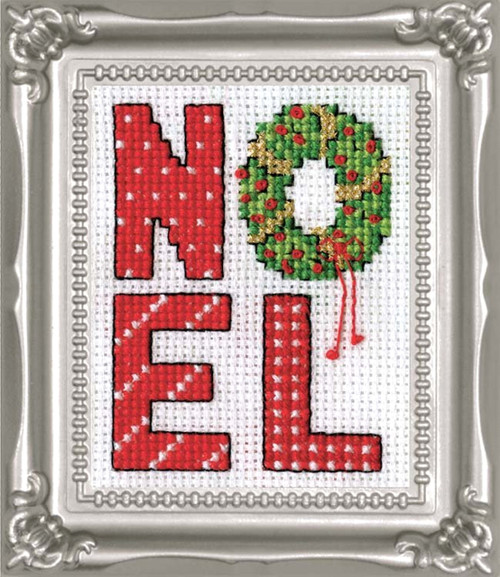 Design Works -  Noel Picture Kit w/Frame