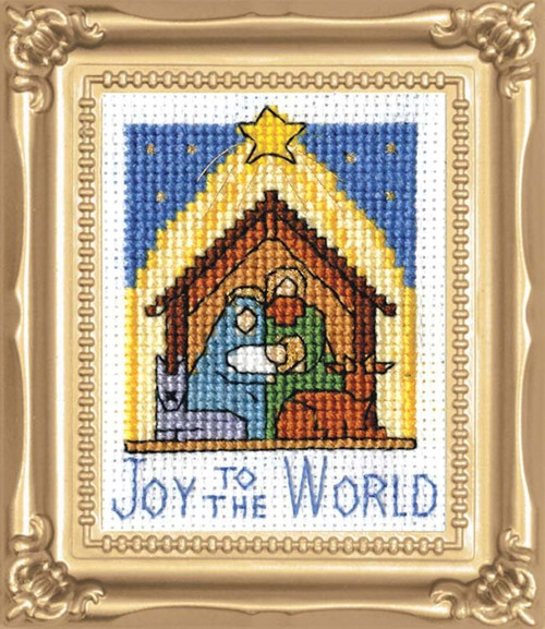 Design Works -  Nativity Picture Kit w/Frame