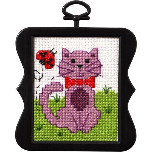 Plaid / Bucilla Beginner Mini -  Kitty