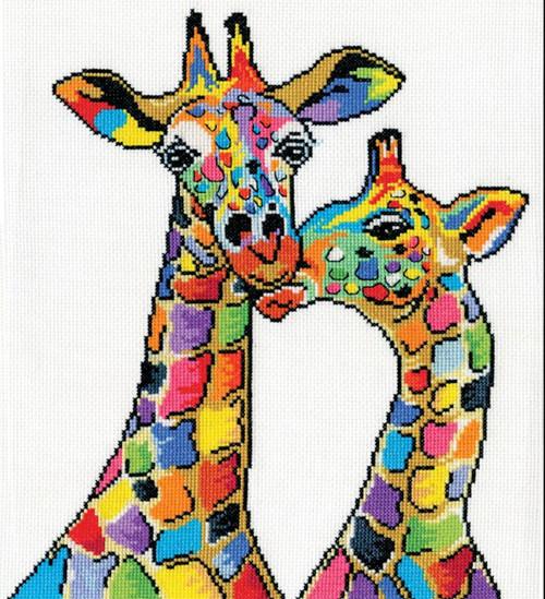 Design Works - Colorful Giraffes