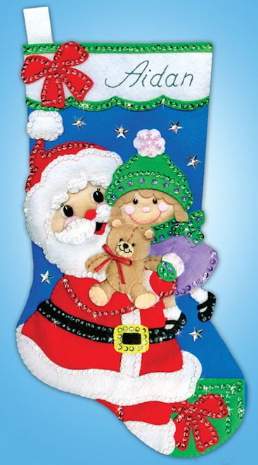 Design Works - Santa's Hug Stocking