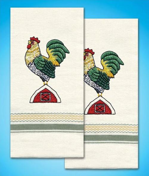 Design Works - Rooster Towels (2)