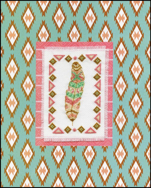 Design Works - Feather Stitch & Mat