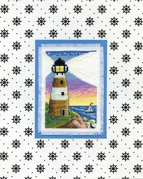 Design Works - Lighthouse Stitch & Mat
