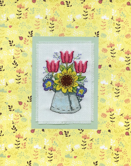 Design Works - Watering Can Stitch & Mat