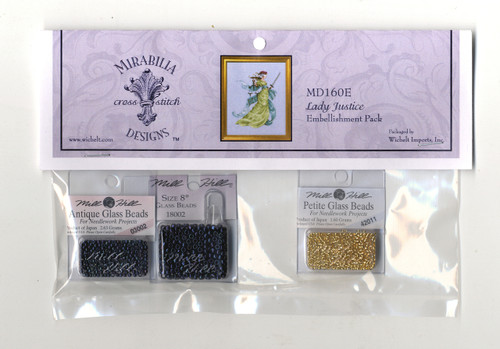 Mirabilia Embellishment Pack - Lady Justice
