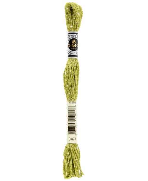 DMC Etoile Floss #C471 - Very Light Green Avocado