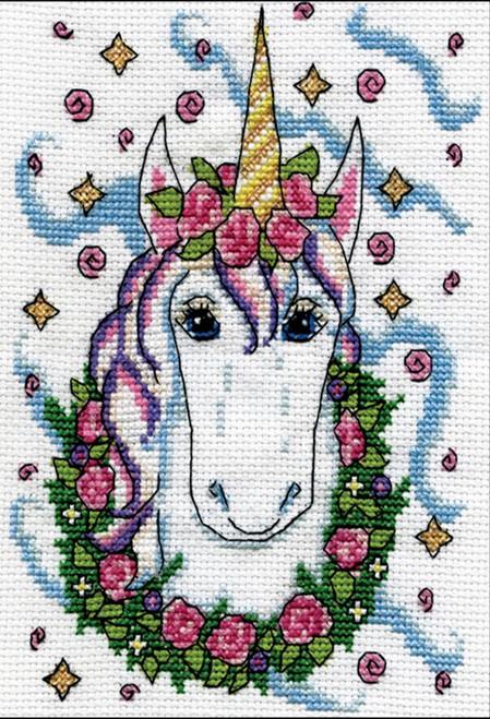 Design Works - Floral Unicorn