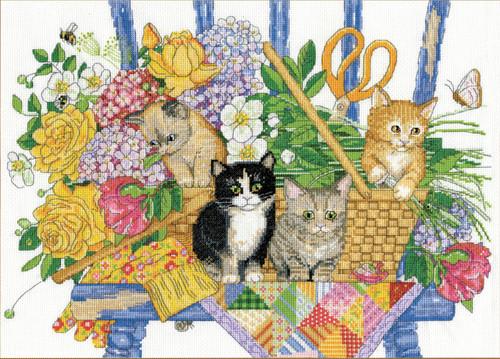 Design Works - Garden Kittens