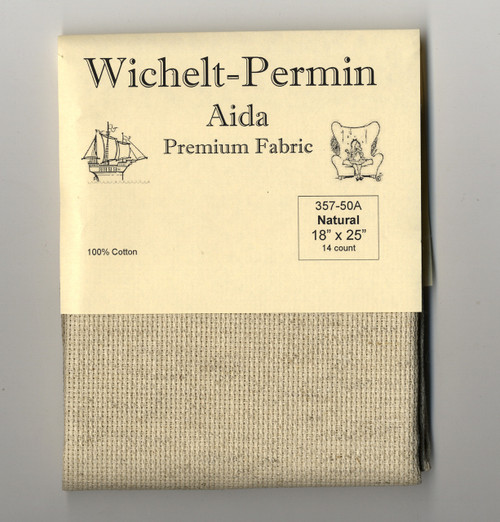 Wichelt - 14 Ct  Natural Aida 18 x 25 in