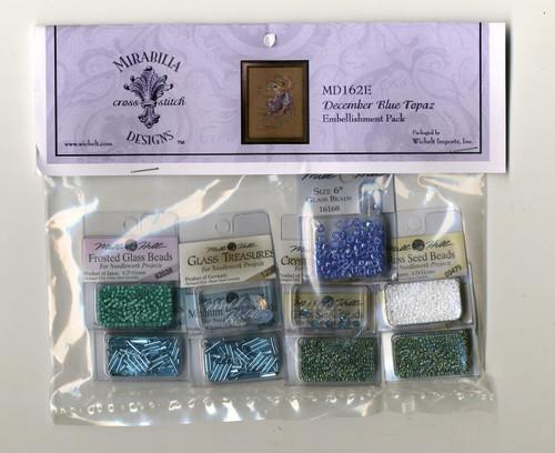 Mirabilia Embellishment Pack  - December Blue Topaz