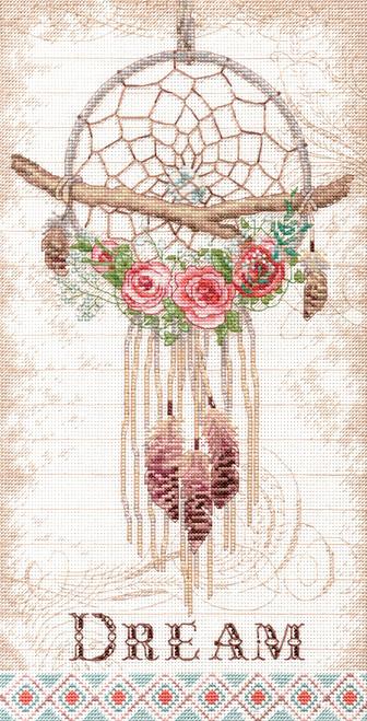 Dimensions - Floral Dreamcatcher