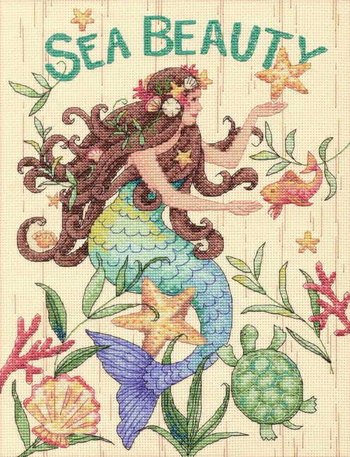 Counted Cross Stitch Kit  CAFE BY THE SEA Dimensions