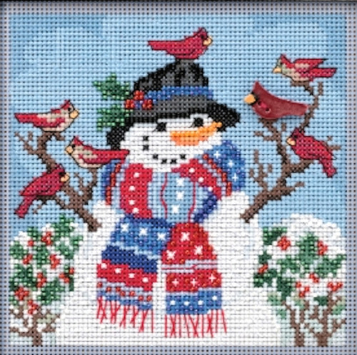 2019 Mill Hill Buttons & Beads Winter Series - Winter Welcome