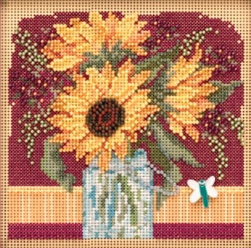 2019 Mill Hill Buttons & Beads Autumn Series - Sunflower Bouquet