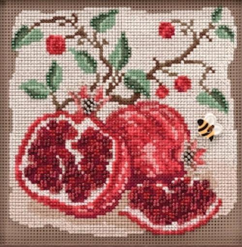 2019 Mill Hill Buttons & Beads Autumn Series - Pomegranates