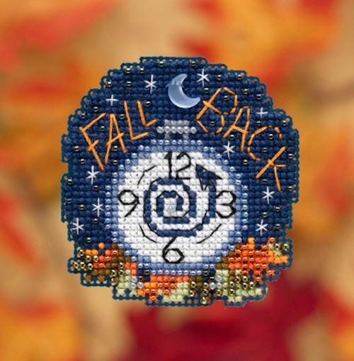 Mill Hill 2019 Autumn Harvest Collection - Fall Back Ornament