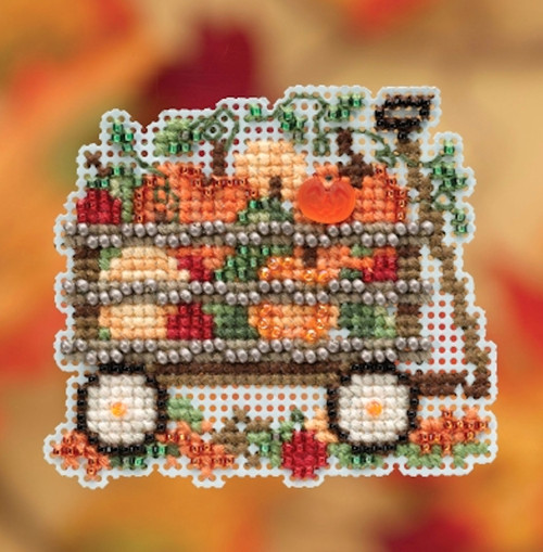 Mill Hill 2019 Autumn Harvest Collection - Harvest Wagon Ornament