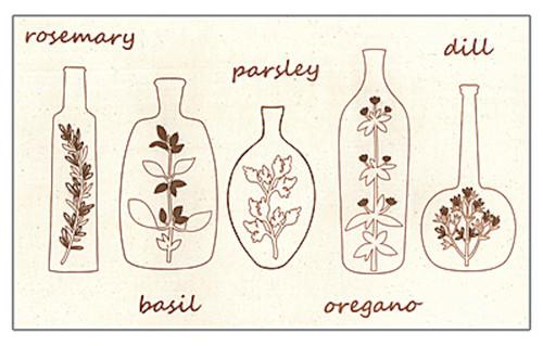 "Janlynn ""Simple Stitch"" - Herbal Jars"