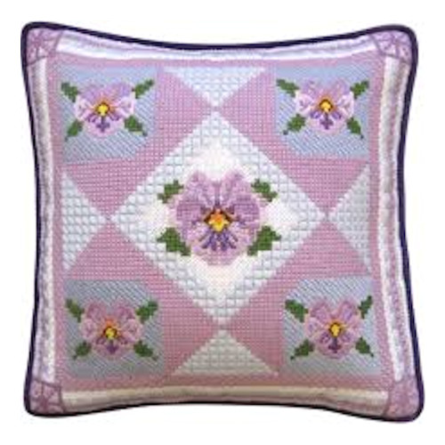 Candamar - Pansy (Picture or Pillow)