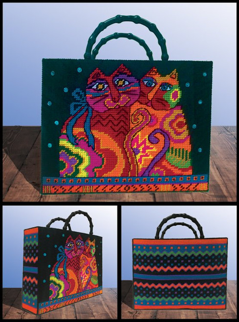 Design Works - Laurel Burch Cat Tote