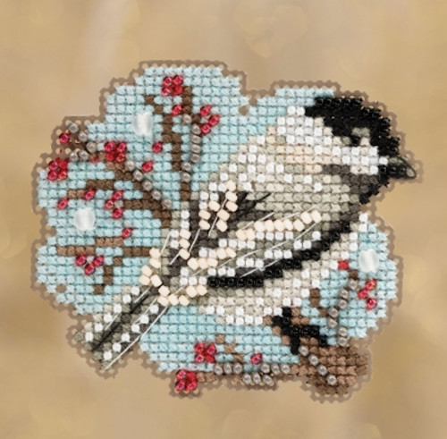 Mill Hill 2018 Winter Holiday Collection - Little Chickadee Ornament