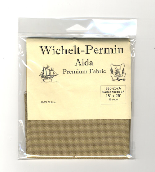 Wichelt - 16 Ct Country French Golden Needle Aida 18 x 25 in