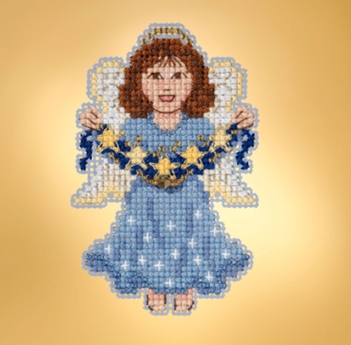Mill Hill 2019 Winter Holiday Collection - Celestial Angel Ornament