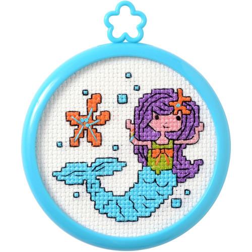 Plaid / Bucilla - My 1st Stitch - Mermaid