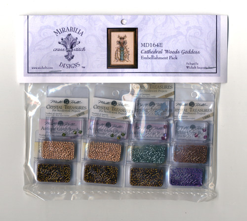 Mirabilia Embellishment Pack  - Cathedral Woods Goddess