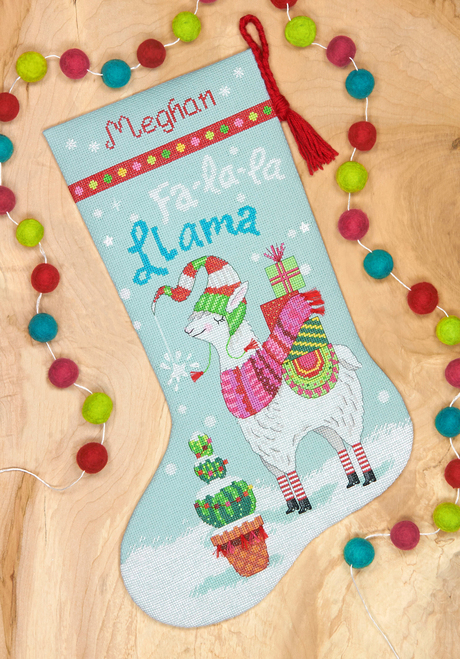Dimensions - Llama Stocking