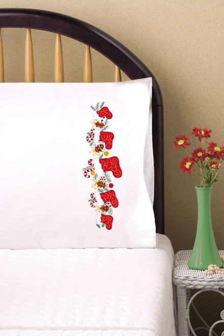 Design Works - Christmas Stocking Pillowcases (2)