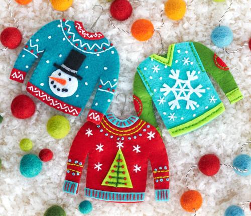 Dimensions - Sweater Felt Ornaments