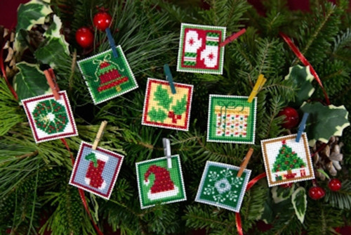 Mill Hill 2019 Advent Trilogy Ornaments - Set Two