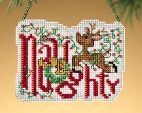 Mill Hill 2009 Winter Greetings Charmed Ornament - Naughty