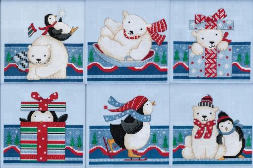 Mill Hill 2017 Debbie Mumm Polar Opposites (Set of 6 Kits)